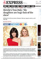 Tess Daly - Daily Mirror