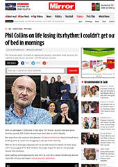 Phil Collins - Daily Mirror