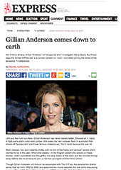 Gillian Anderson - Express