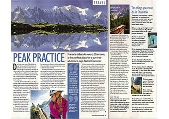Chamonix - Saturday Express Magazine